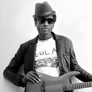 Cours de guitare acoustique blufunk - Keziah Jones