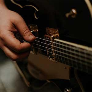 Cours de guitare acoustique jazz - improviser avec les arpèges - fabien degryse