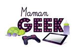 logo maman geek
