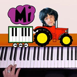 premiers pas au piano