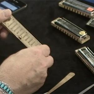 Choix et entretien harmonica - Jean Jacques Milteau