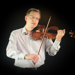 Violin masterclass - Michael Saims at imusic-school