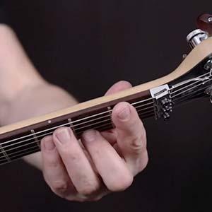Cours de guitare sur les accords barrés