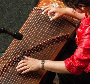 chinese instrument - guzheng